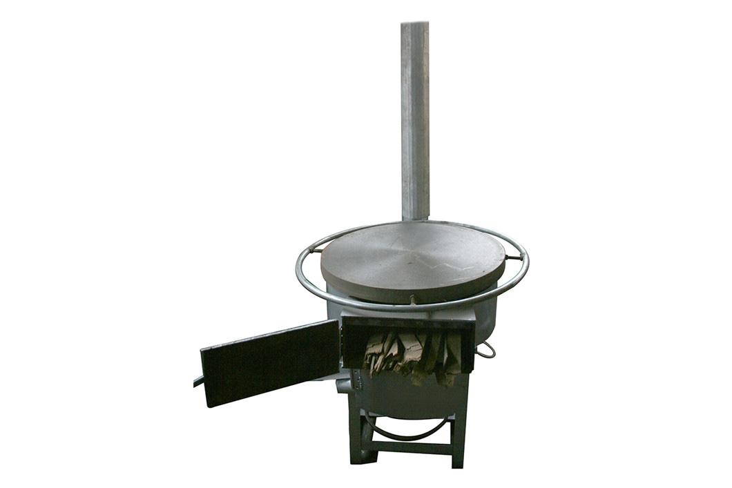 木材秸秆颗粒全自动半自动煎饼机