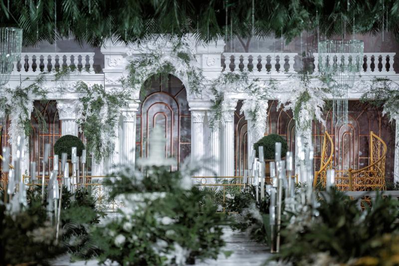 一場清新夢幻崇尚自然的森系婚禮