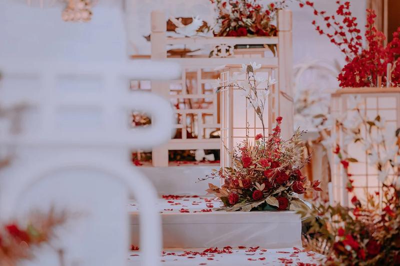 溫馨喜慶且富有儀式感的新中式婚禮
