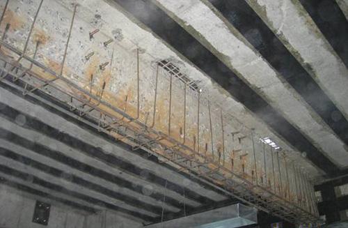 需要加固的樓板和梁