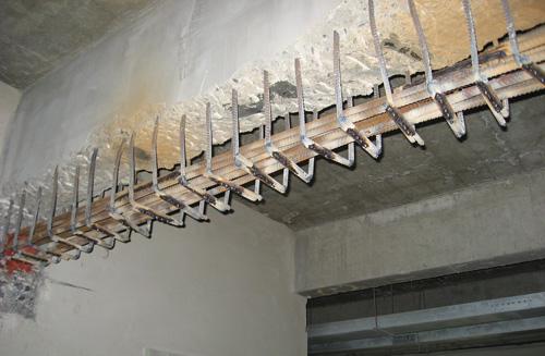 車城加固梁-鋼筋制作成型