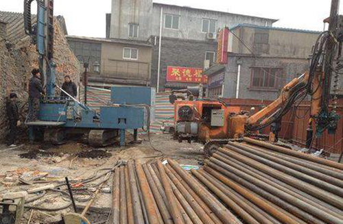 基礎鋼管樁加固