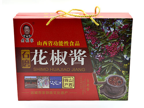 石磨花椒醬 200克*4