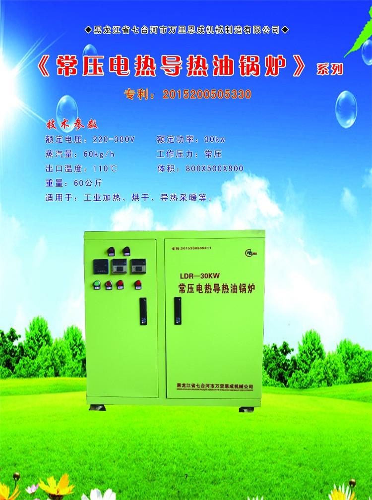 常压电热导热油锅炉