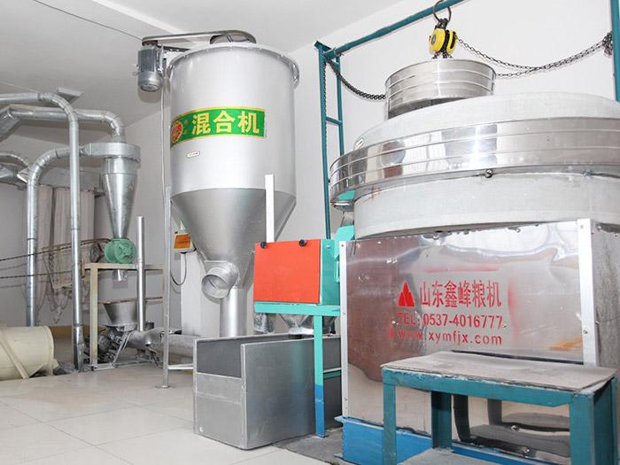 多功能低速面粉機組