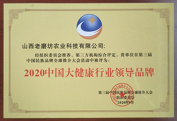 2020中國大健康行業************