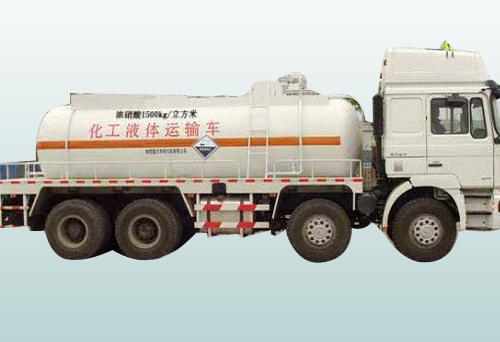 化工液体运输车-运输介质浓硝酸