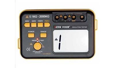 VC60B+绝缘电阻测试仪