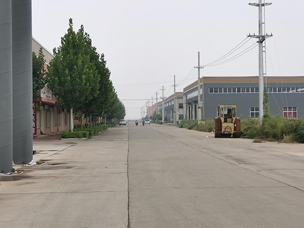 临猗县小微企业孵化基地鸟瞰图