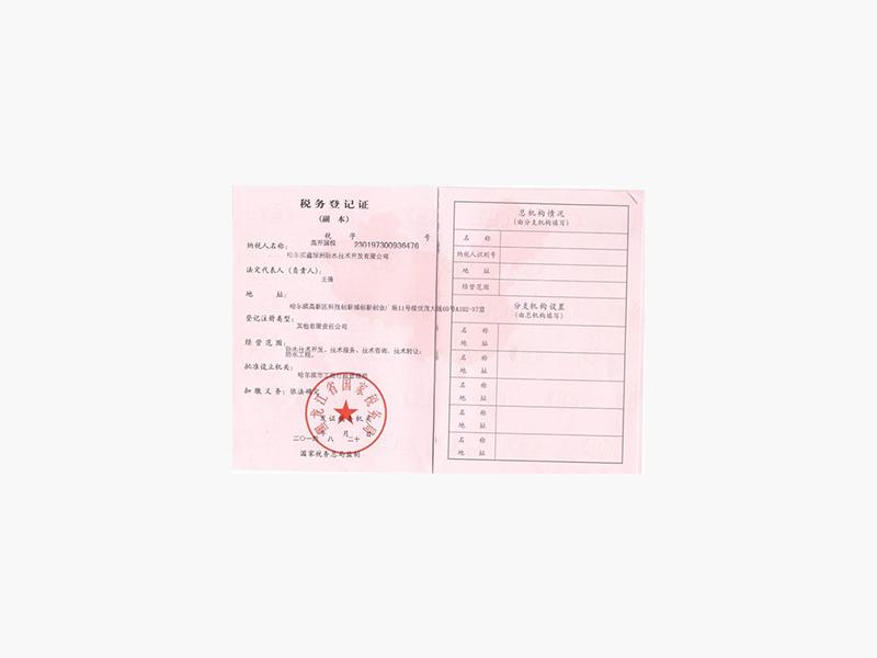 税务登记证(国副)
