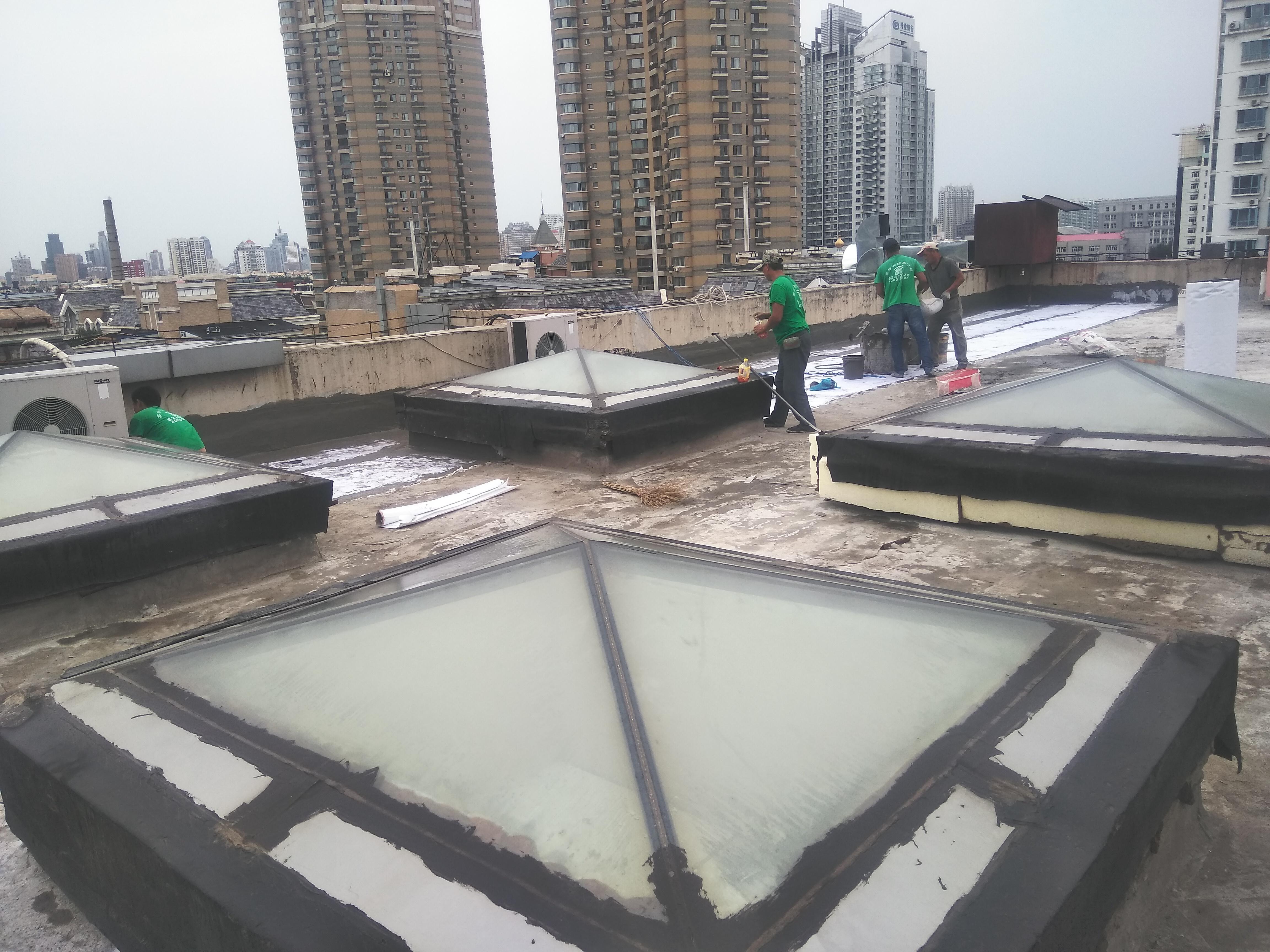 哈尔滨做屋顶防水的注意事项