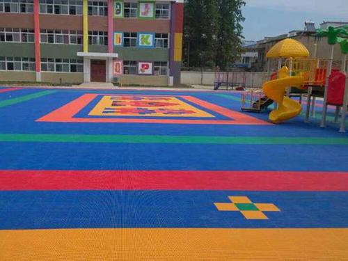 幼儿园塑胶地板-悬浮地板