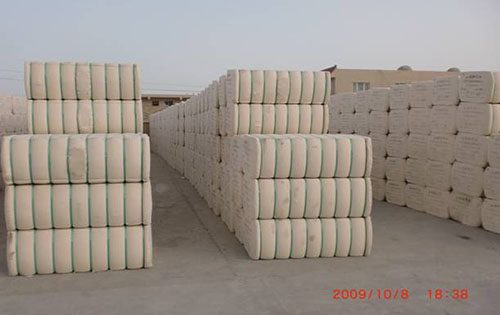 棉花捆包實例