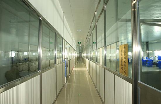 生产车间观光走廊