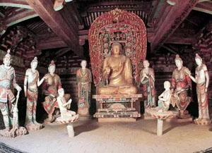 独冠中原的山西寺观彩塑