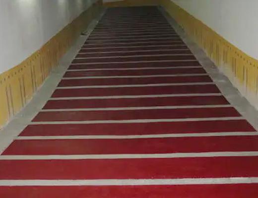 MMA樹脂無振動止滑坡道