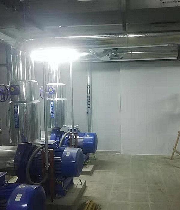 长治市潞鼎国际制冷机房吸音工程