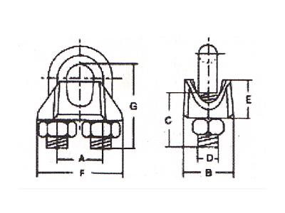 DL906-美式玛钢卡头