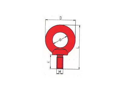 DL705-G80吊环螺栓
