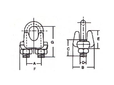 DL905-450美式模锻卡头