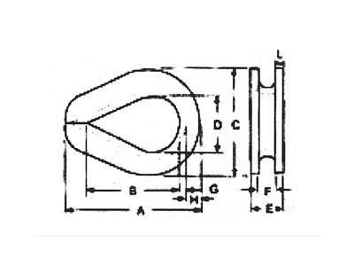 DL901-美式套环