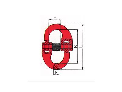 DL803-G80美式双环扣