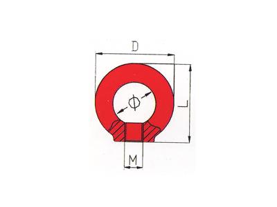 DL706-G80吊环螺母