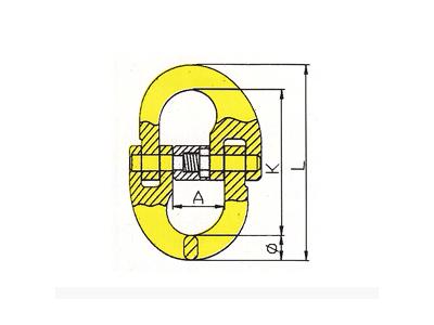 DL805-G80德式链接双环扣