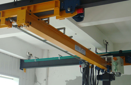 LX電動單梁懸掛起重機