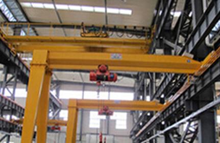 MHB型電動葫蘆半門式起重機