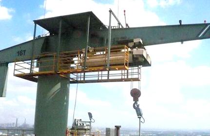 16噸柱式旋臂起重機
