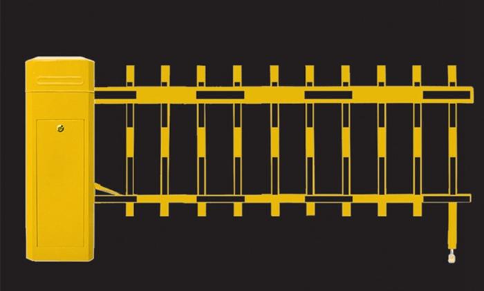 两栏式挡车器
