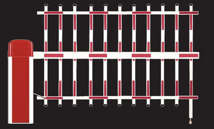 三栏式挡车器