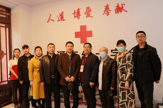 退役军人事务局相关人员参观体验红十字会应急救护基地
