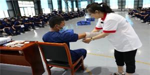 红十字救护员培训班——黑河森林消防员