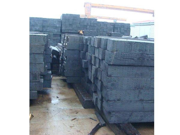 煤礦再生枕木