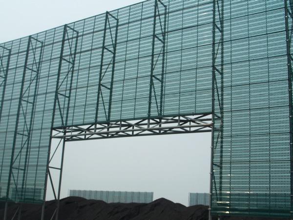 煤廠港口碼頭擋風墻 (1)