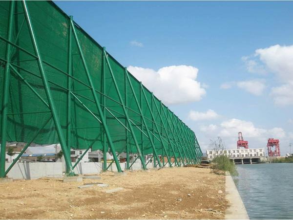 煤廠港口碼頭擋風墻 (2)
