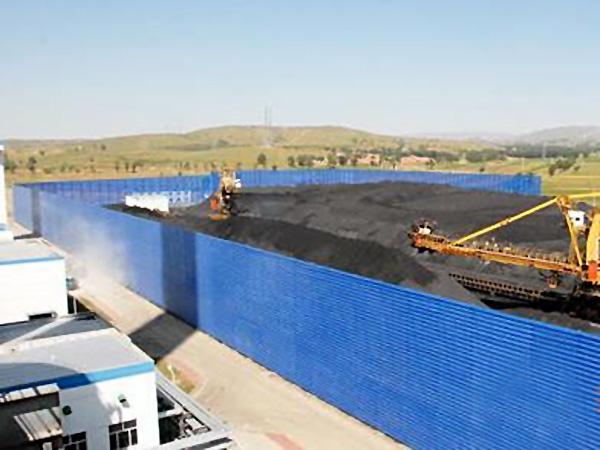 煤廠港口碼頭擋風墻