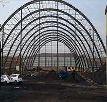 60米跨度鋼結構煤棚