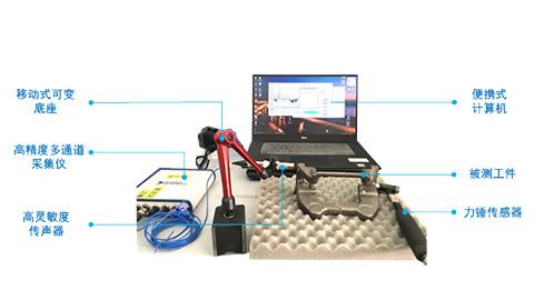 机械零件模态测试系统