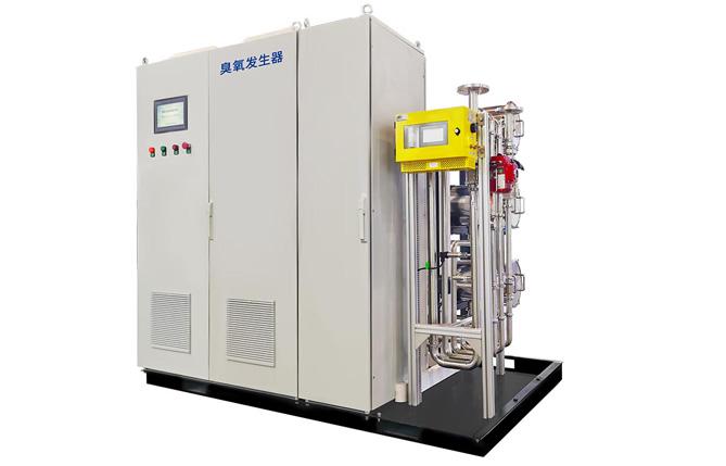 预处理系统大多使用大型的臭氧发生装置