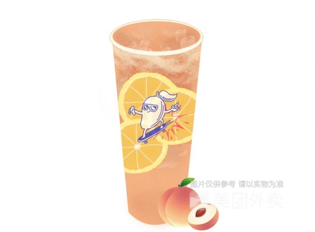 蜜桃乌龙柠茶