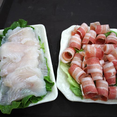 大福龍利魚、王婆五花肉