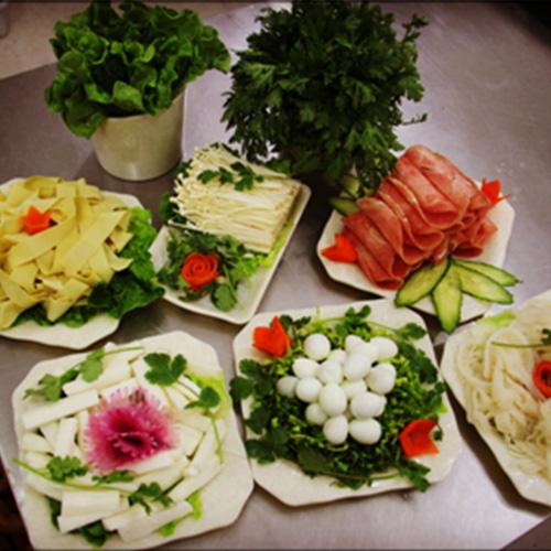 大福菜品擺盤