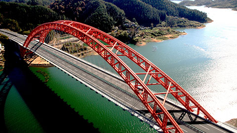 案例欣賞:黃山太平湖大橋